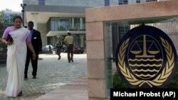 Hamburg'da bulunan BM Uluslararası Deniz Hukuku Mahkemesi