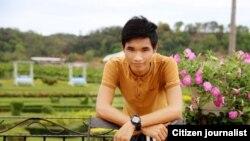 Nhà hoạt động Nguyễn Văn Hóa (ảnh chụp từ Facebook Nguyễn Văn Hóa)