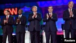 پنج نفر از کاندیداهای جمهوریخواه