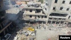 ဆီးရီယားအပစ္ရပ္သေဘာတူညီခ်က္ သူပုန္တို႕မယံုၾကည္