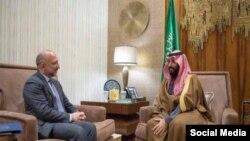 حنیف اتمر دسعودي شهزاده محمد بن سلمان السعود سره لیدنه کوي