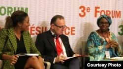 Les participants à la troisième édition du Forum Africain pour la Résilience 3