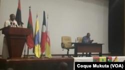 Jornadas Parlamentares da oposição, Angola