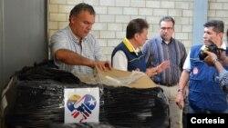 Puerto Rico se suma a la ayuda humanitaria que llega a Colombia para ayudar a Venezuela.