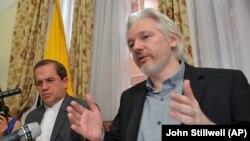 Ông Julian Assange bị cáo buộc hiếp dâm một người phụ nữ hồi năm 2010.