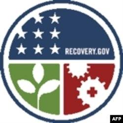 美国政府的经济复苏网站的徽标