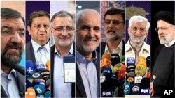 İran'da 18 Haziran'da yapılacak cumhurbaşkanlığı seçimine 7 aday katılacak.