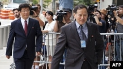 Shimoliy Koreya diplomatlari Nyu-Yorkda, BMT qarorgohi yonida AQSH tomoni bilan gaplashmoqda