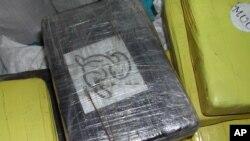 """""""pacotes"""" de cocaína apreendidos (arquivo)"""