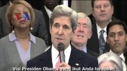 John Kerry Menteri Luar Negeri Baru AS - Liputan Berita VOA