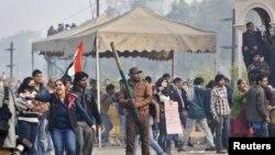 نئی دہلی مظاہرہ