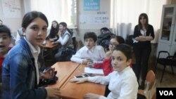 ინგლისური ენის კვირეული ბათუმის შაჰინის სკოლაში