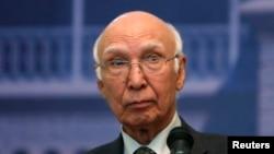 پاکستانی مشیر خارجہ و قومی سلامتی سرتاج عزیز