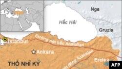 Số tử vong tăng trong trận động đất tại Thổ Nhĩ Kỳ