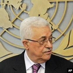 លោក ម៉ាហ៍មូដ អប្បាស់ (Mahmoud Abbas) ប្រធានាធិបតីប៉ាឡេស្ទីន មកចូលរួមនៅក្នុងកិច្ចប្រជុំមួយ ជាមួយលោក បាន គីមូន (Ban Ki-moon) អគ្គលេខាធិការអ.ស.ប.នៅទីស្នាក់ការអ.ស.ប.នៅទីក្រុងញូវយ៉កកាលពី ថ្ងៃទី១៩ ខែសីហា។