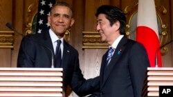 Tổng thống Obama trấn an Nhật Bản rằng Mỹ sẽ thực thi cam kết bảo vệ Nhật nếu Trung Quốc chiếm một nhóm đảo đang tranh chấp.