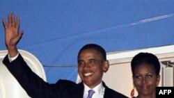 Նախագահ Օբաման պետական այցով ժամանել է Լոնդոն
