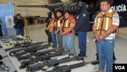 Se estima que el 90 por ciento de las armas que entran de contrabando a México tienen por origen EE.UU.