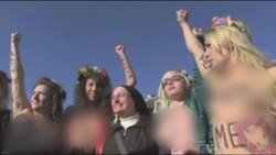 Ukraine Feminists Campaign Against Sex Tourism