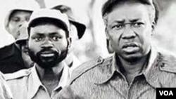 Samora Machel e Julius Nyerere