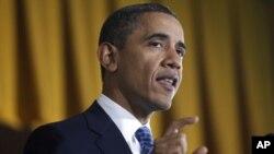 美國總統奧巴馬 (資料圖片)