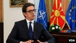 Stevo Pendarovski, President i Maqedonisë së Veriut