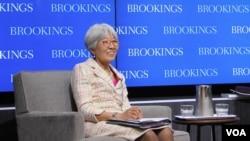 29일 미국 워싱턴의 민간연구단체인 브루킹스연구소에서 '북한의 감춰진 사람들(hidden people of North Korea)'저자이자 브루킹스 연구소 객원선임연구원인 오공단 박사의 강연회가 열렸다.