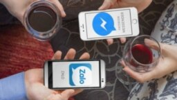 Ứng dụng Zalo 'made in Vietnam' đang cạnh tranh mạnh với Facebook ở Việt Nam. (ảnh chụp màn hình bizLive)