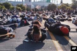 Протест проти свавілля поліції в м. Портленд, Орегон