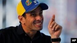 Henrique Capriles dijo que si se tiene la verdad en la mano hay que ir a defenderla a donde sea.
