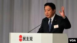 Yoshihiko Noda se comprometió también a luchar contra la inflación y detener el aumento constante de la moneda japonesa.