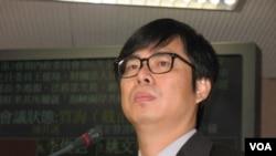 民進黨立委陳其邁(美國之音申華拍攝)