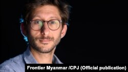 Frontier Myanmar အုပ္ခ်ဳပ္မႈ အယ္ဒီတာ Dennay Fenster (ဓါတ္ပုံ၊.Frontier Myanmar /CPJ )