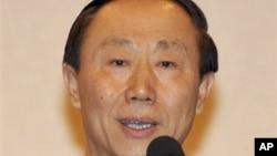 왕자루이 중국 공산당 대외연락부장. (자료사진)