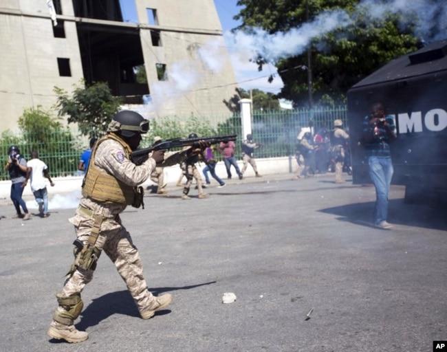 Protesta en Haití deja al menos dos muertos y varios heridos.