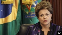 Menurut laporan, AS memata-matai komunikasi Presiden Brazil Dilma Rousseff (foto: dok).