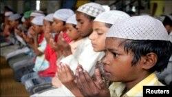 بھارتی مسلمان بچے