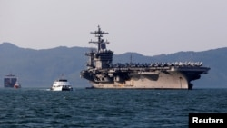 Tàu sân bay Mỹ USS Carl Vinson thăm Đà Nẵng, Việt Nam, tháng 3/2018