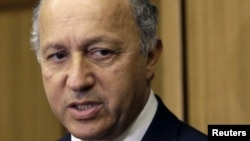 French Foreign Minister Laurent Fabius, August 17, 2012.