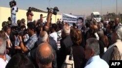 Протест сирійців проти президентської влади