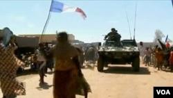 部署在馬里的法國軍隊