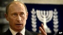 Ruski predsednik Vladimir Putin tokom jedne od ranijih poseta Izraelu (arhivski snimak)