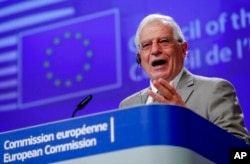 歐盟首席外交官歐盟外交和安全政策高級代表博雷利