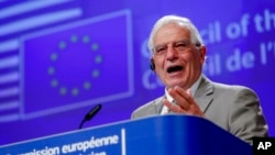 Kepala Urusan Luar Negeri Uni Eropa Josep Borrell. (Foto: dok).