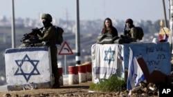 Izraelski vojnici na Zapadnoj Obali, 4. mart 2016.