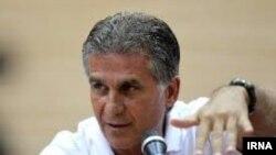 کارلوس کیروش سرمربی پرتغالی تیم ملی فوتبال ایران