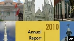 State Department's annual report on the state of religious freedom in the world, 2010
