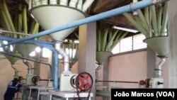 Fábrica de farinha, Benguela, Angola