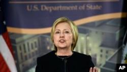 """维基解密的一份文件显示,美国前国务卿希拉里.克林顿曾在一封邮件中称放弃台湾的主张""""挺聪明""""。"""