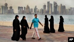 La ciudad de Doha, Catar, en una foto de archivo de 2012.